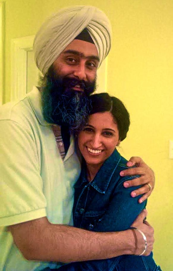 Sartaj and his wife, Supreet