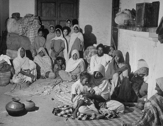 1947 Partition of Punjab, India