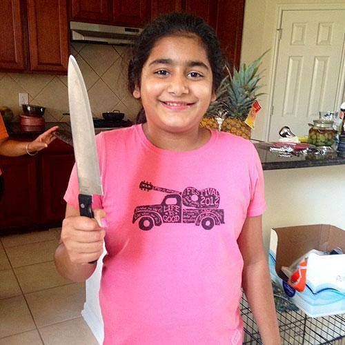 Kaur Armed with Knife During Burglary