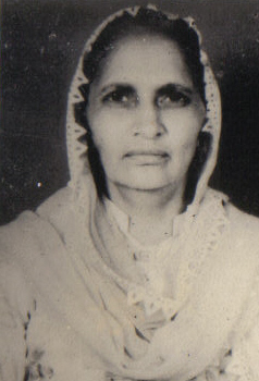 Circa 1970. Punjab. Ratan Kaur Dhariwal