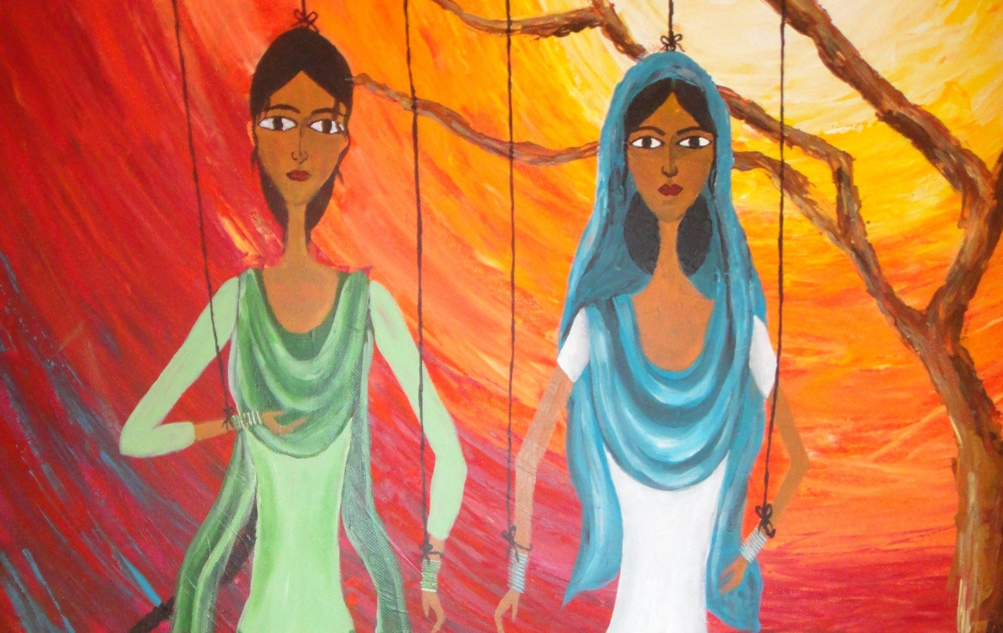 The Feminist Kaur with a Paintbrush