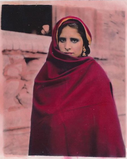 A Kashmiri Sikh woman from the early 1950s. Private collection.