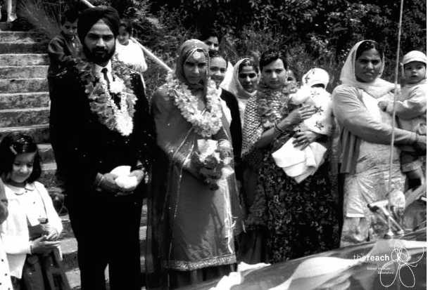 1950. A Sikh wedding party. Source: Thereach.ca