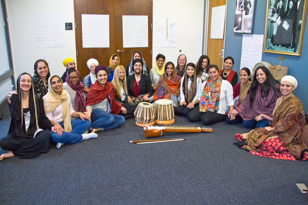 Sikh Women Gather at Mai Bhago Retreat