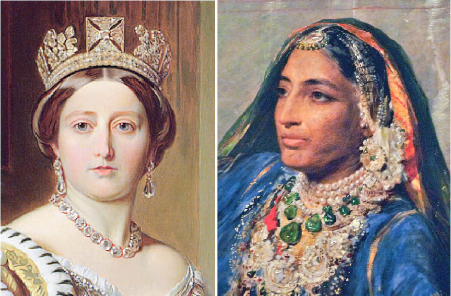 A tale of two Queens: Maharani Jind Kaur & Queen Victoria