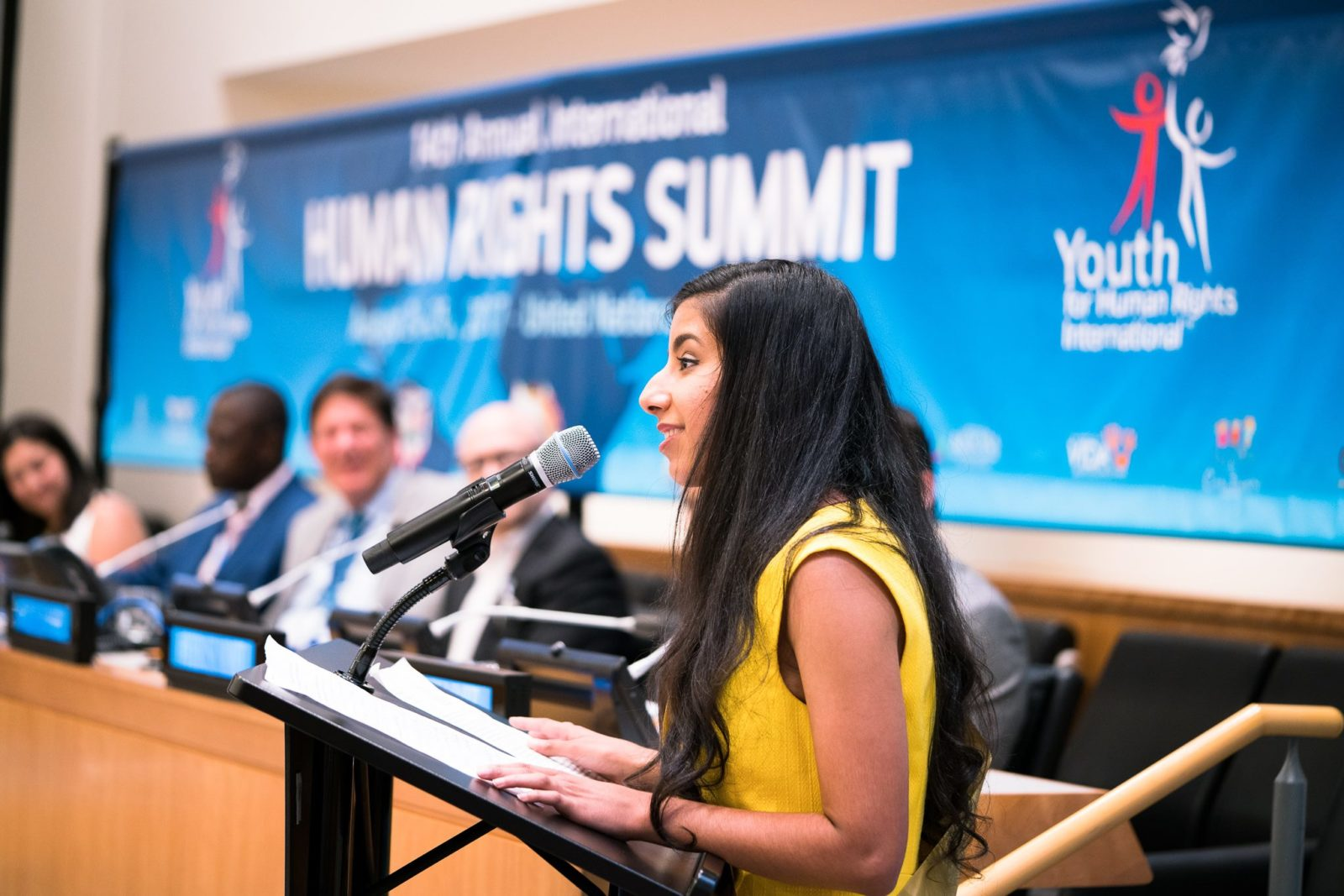 An experience I will never forget: Naureen Returns from Human Rights Summit