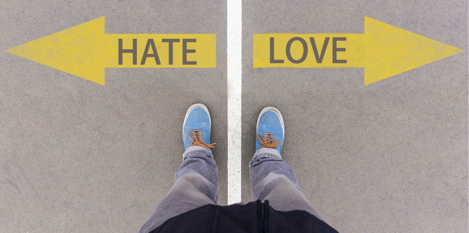 Sikh Love vs Hate Fork in the Road
