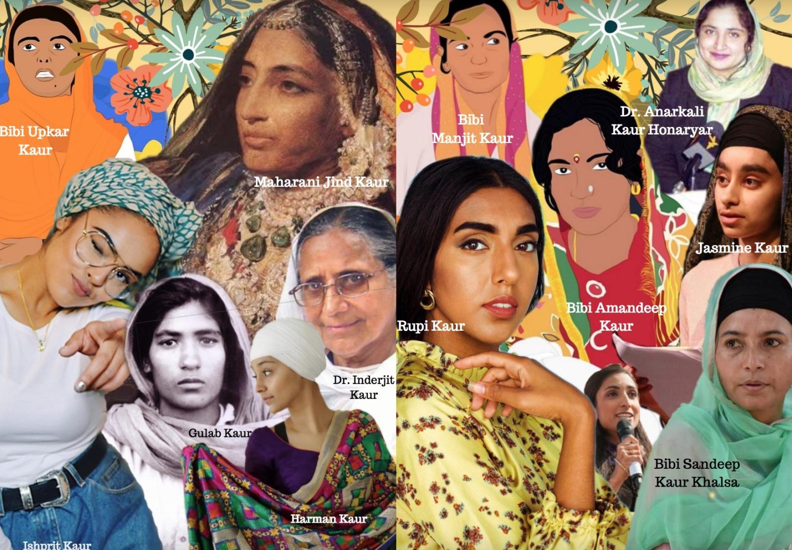 Kaur Panth Zine of Sikh Women Cover