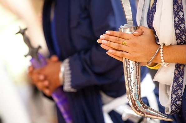 Why These Kaurs Held Kirpans at Their Weddings